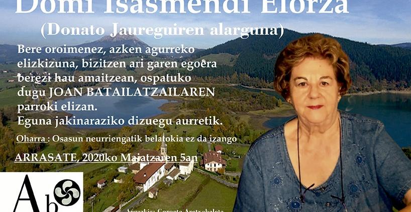Domi Isasmendi Elorza