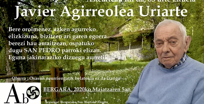 Javier Agirreola Uriarte